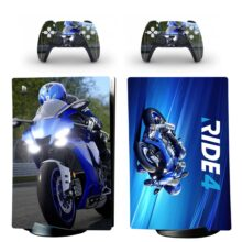 Ride 4 Skin Sticker Decal For PS5 Digital Edition And Controllers