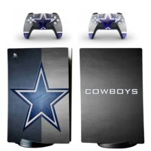 Dallas Cowboys Skin Sticker Decal For PS5 Digital Edition And Controllers