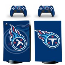 Tennessee Titans Skin Sticker Decal For PS5 Digital Edition And Controllers