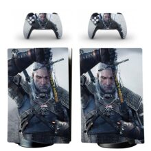 The Witcher PS5 Digital Edition Skin Sticker Decal Design 2
