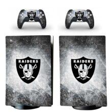 Las Vegas Raiders PS5 Digital Edition Skin Sticker Decal