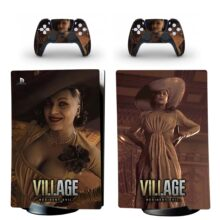 Resident Evil Village PS5 Digital Edition Skin Sticker Decal Design 2