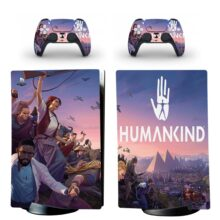 Humankind PS5 Digital Edition Skin Sticker Decal