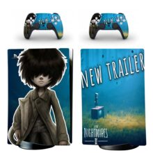 Little Nightmares II Skin Sticker Decal For PS5 Digital Edition And Controllers