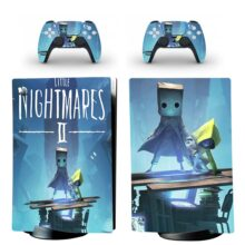 Little Nightmares II Skin Sticker Decal For PS5 Digital Edition