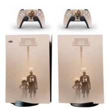 Kobe Bryant PS5 Digital Edition Skin Sticker Decal Design 1