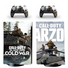 Call Of Duty Black Ops Cold War PS5 Digital Edition Skin Sticker Decal Design 3