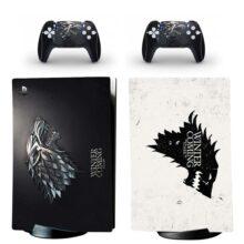 House Stark PS5 Digital Edition Skin Sticker Decal Design 2