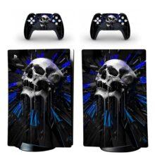 Metallica - Blackened Skull PS5 Digital Edition Skin Sticker Decal