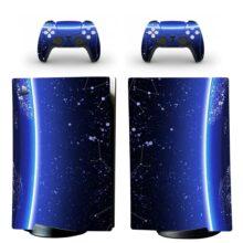 Milky Way Galaxy Pattern PS5 Digital Edition Skin Sticker Decal Design 10