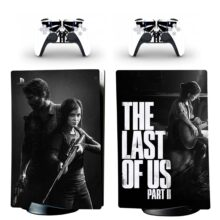 The Last Of US Skin Sticker Decal For PS5 Digital Edition Design 3