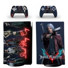 Devil May Cry 5 Skin Sticker Decal For PS5 Digital Edition