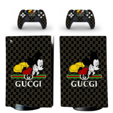 Mickey Mouse Clipart Skin Sticker Decal For PS5 Digital Edition