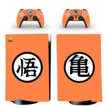 Dragon Ball Z Skin Sticker Decal For PS5 Digital Edition Design 12