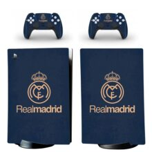 Real Madrid C.F. Skin Sticker Decal For PS5 Digital Edition