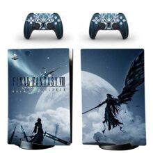 Final Fantasy VII Skin Sticker Decal For PS5 Digital Edition Design 1