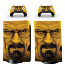 Breaking Bad Skin Sticker Decal For PS5 Digital Edition