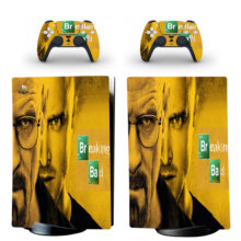 Breaking Bad Skin Sticker Decal For PS5 Digital Edition And Controllers