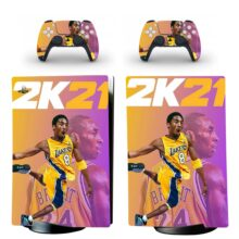 NBA 2K21 Skin Sticker Decal For PS5 Digital Edition