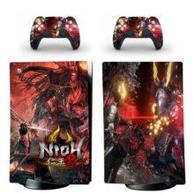 Nioh 2 Skin Sticker Decal For PS5 Digital Edition Design 5