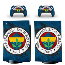 Fenerbahce S.K Skin Sticker Decal For PS5 Digital Edition Design 5