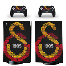 Galatasaray S.K Skin Sticker Decal For PS5 Digital Edition Design 4