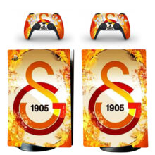 Galatasaray S.K Skin Sticker Decal For PS5 Digital Edition