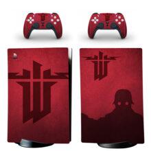 Wolfenstein Skin Sticker Decal For PS5 Digital Edition