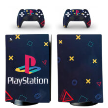 Playstation Store Icon Skin Sticker Decal For PS5 Digital Edition And Controllers