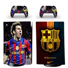 FC Barcelona PS5 Digital Edition Skin Sticker Decal Design 1