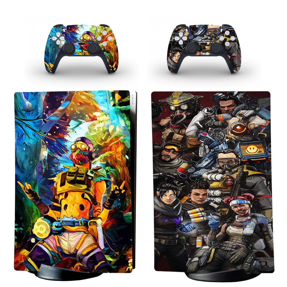Apex Legends Skin Sticker Decal For PS5 Digital Edition And Controllers