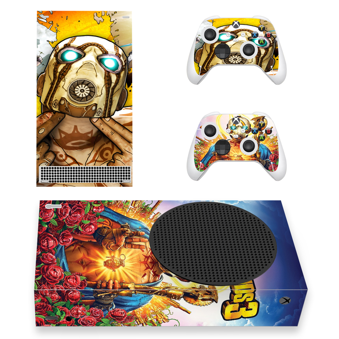 Borderlands 3 Skin Sticker For Xbox Series S And Controllers
