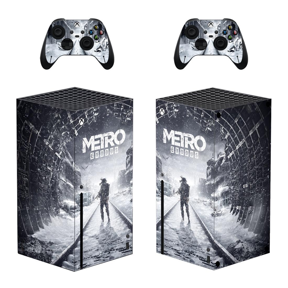 Metro Exodus Xbox Series X Skin Sticker Decal