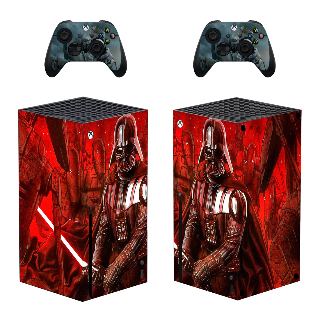 Darth Vader Skin Sticker Decal For Xbox Series X