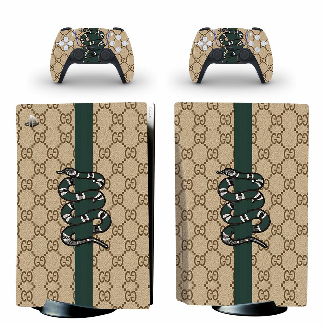 Gucci Drum Kit Wallpaper PS5 Skin Sticker Decal