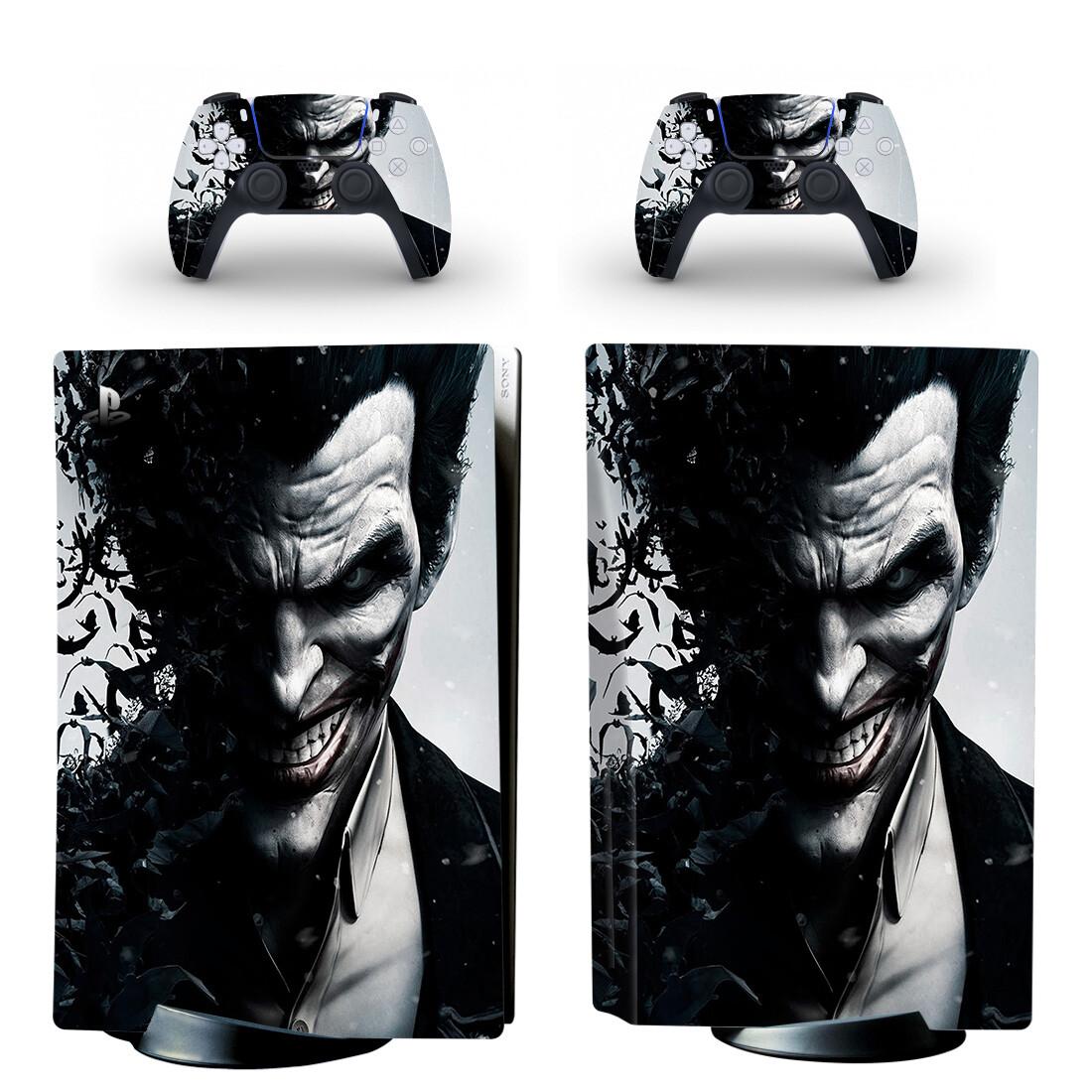 Joker Skin Sticker Decal For PlayStation 5 Design 7