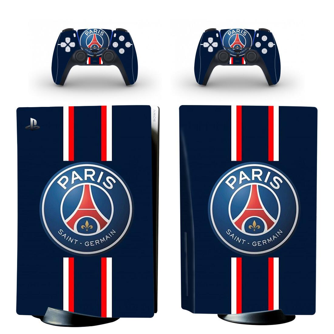 Paris Saint-Germain F.C PS5 Skin Sticker Decal Design 2