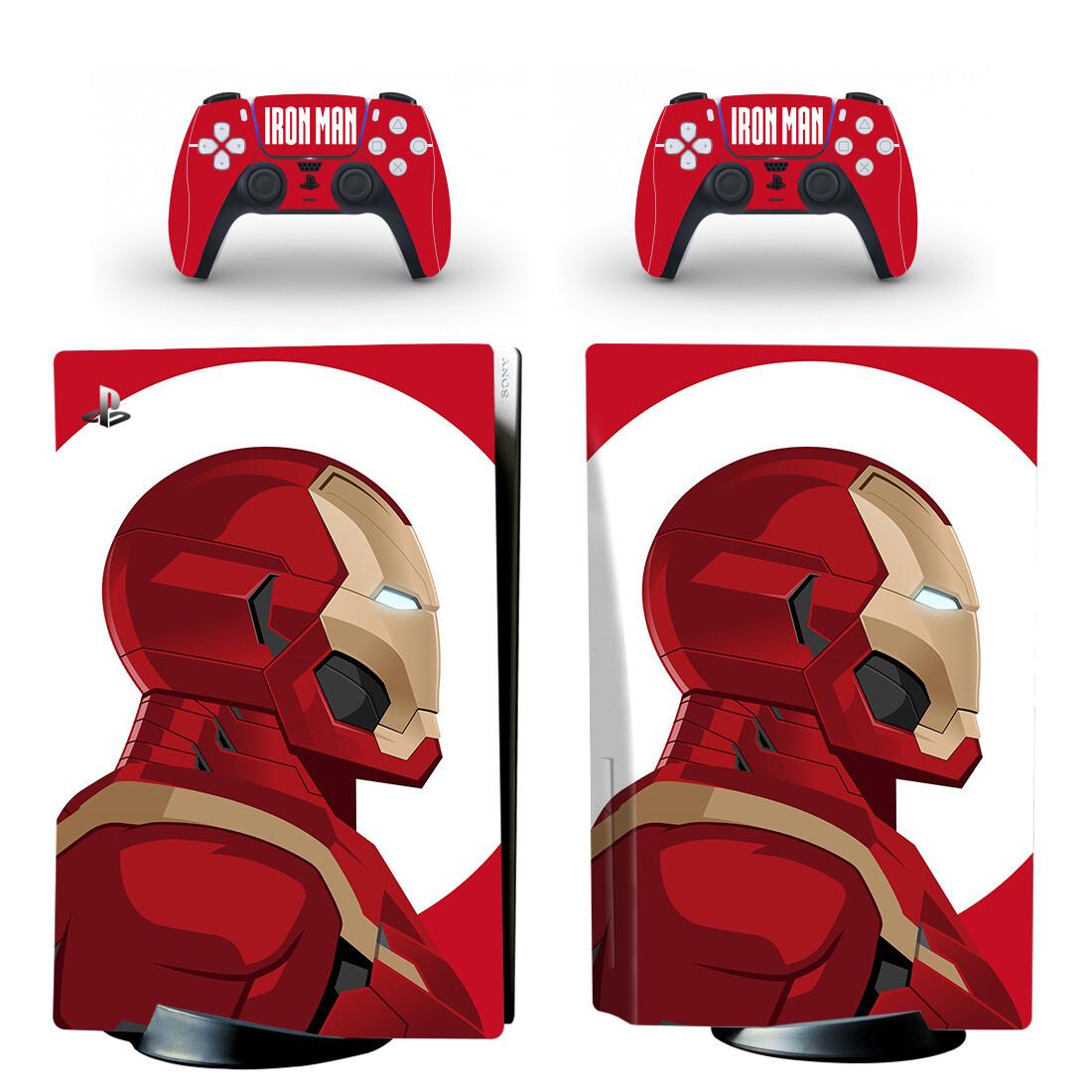 Iron Man PS5 Skin Sticker Decal