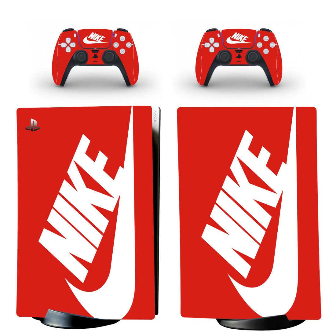 Nike PS5 Digital Edition Skin Sticker Decal Design 2