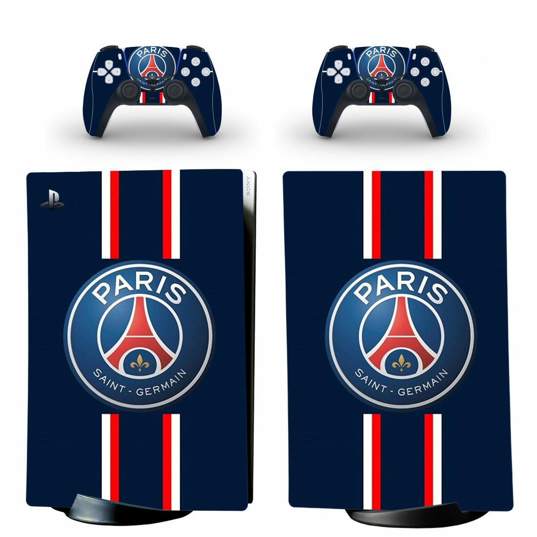 Paris Saint-Germain F.C PS5 Digital Edition Skin Sticker Decal Design 1