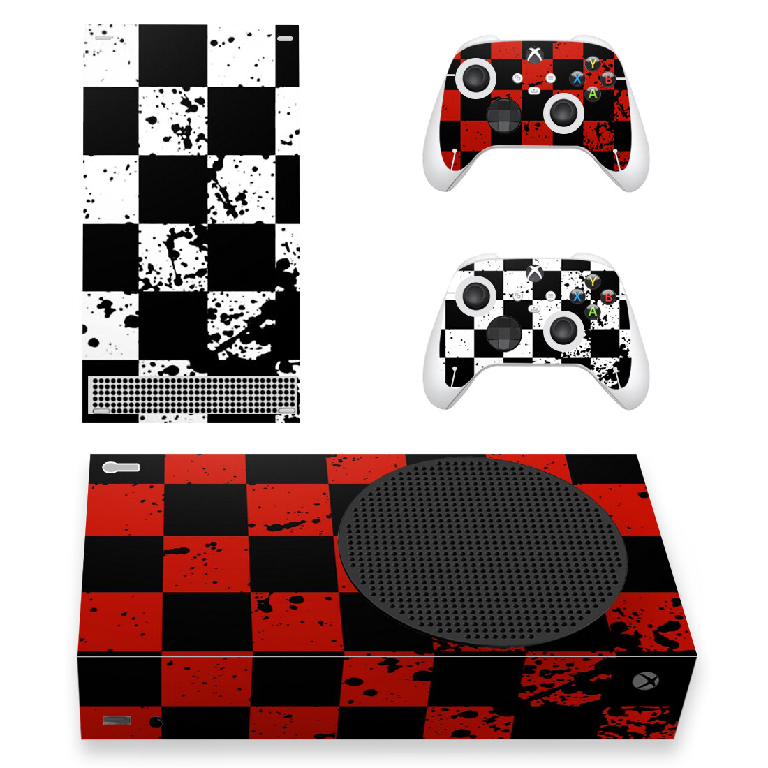 Chess Board Pattern Skin Sticker Decal For Xbox Series S