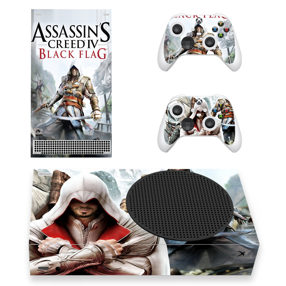Assassin's Creed IV Black Flag Xbox Series S Skin Sticker Decal