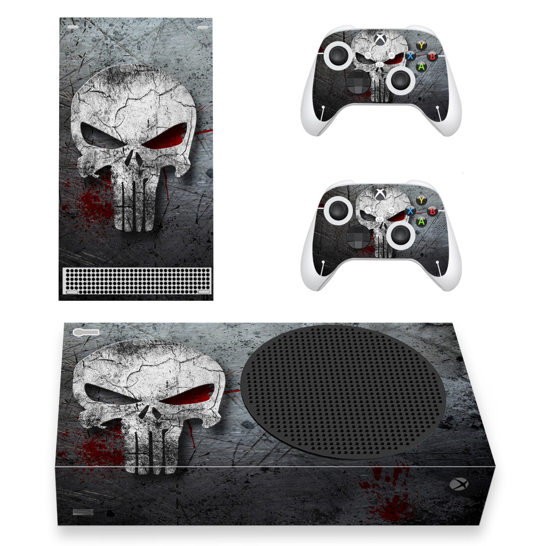The Punisher Xbox Series S Skin Sticker Decal