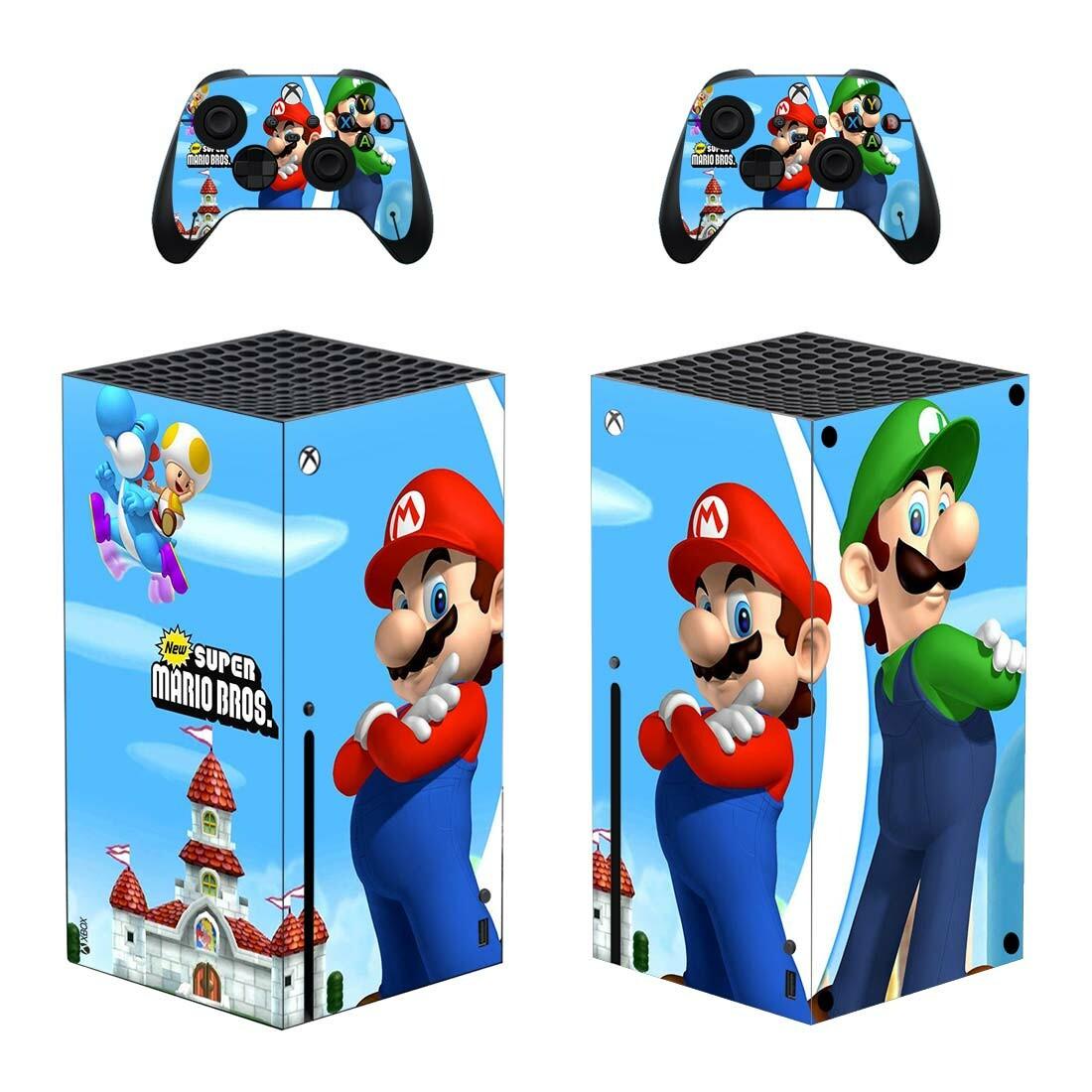 Super Mario Bros Xbox Series X Skin Sticker Decal
