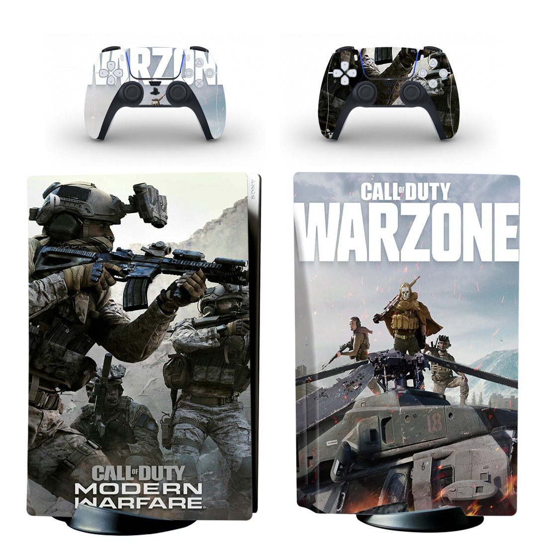 Call Of Duty Warzone PS5 Skin Sticker Decal Design 2