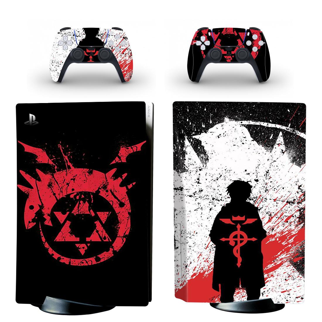 Fullmetal Alchemist PS5 Skin Sticker Decal