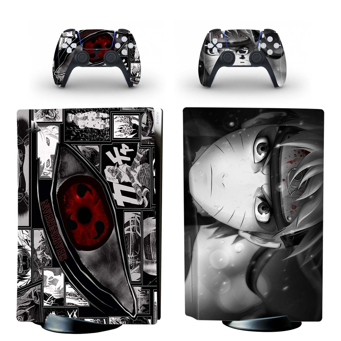 Naruto Skin Sticker Decal For PlayStation 5 Design 16