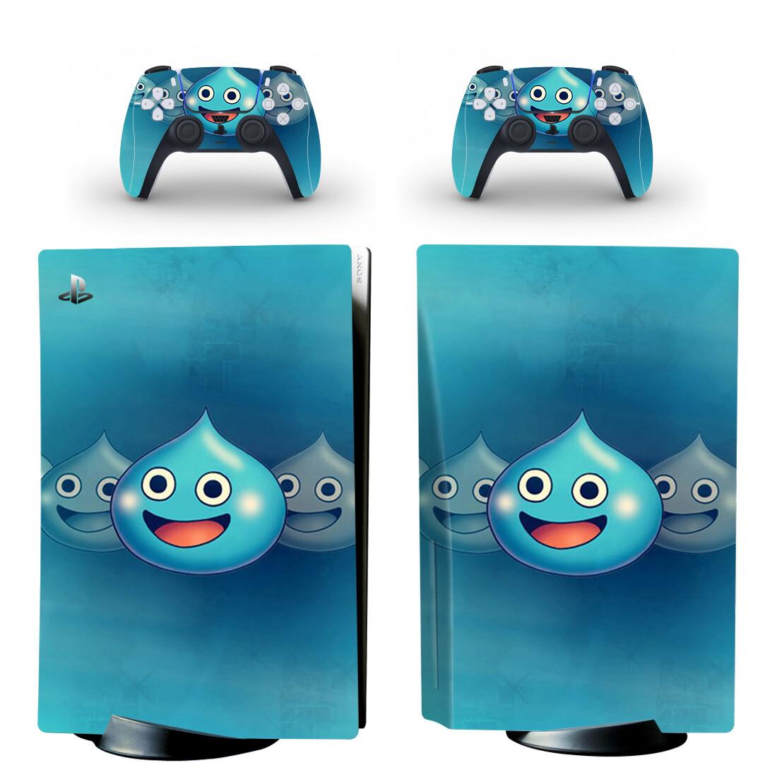 Dragon Quest Heroes Rocket Slime PS5 Skin Sticker Decal Design 1