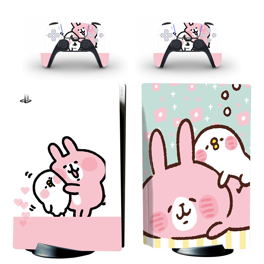Kanahei Skin Sticker For PS5 Skin And Controllers Desgin 2