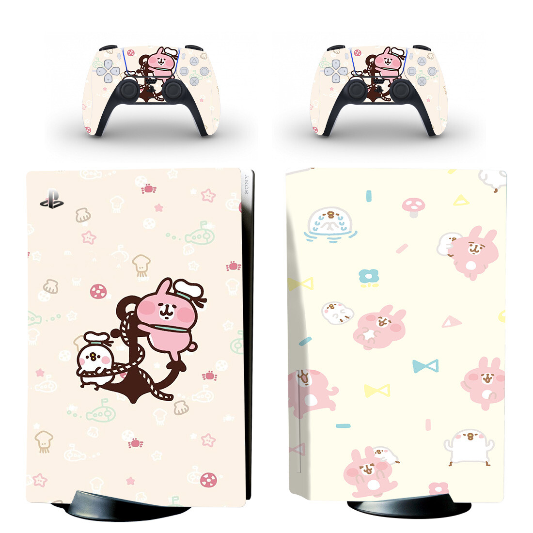 Kanahei Skin Sticker For PS5 Skin And Controllers Desgin 5